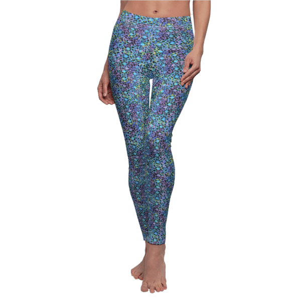 Electric Lace Leggings Front Human