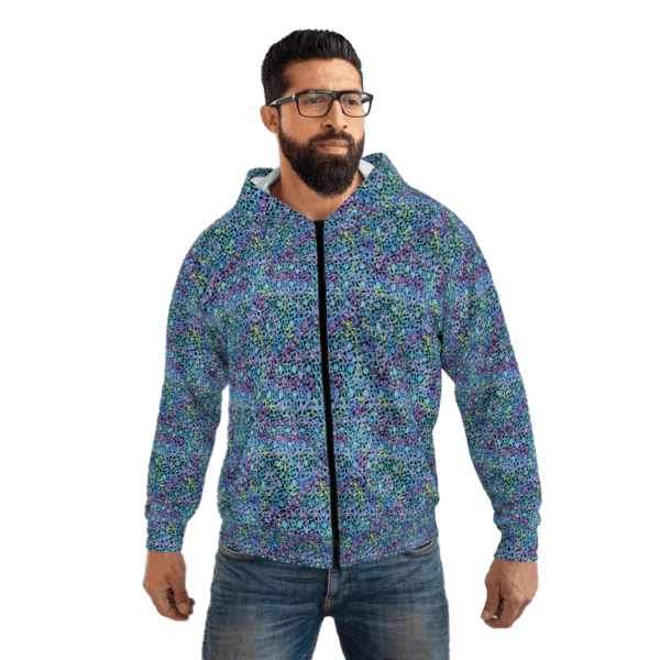 Electric Lace Zip Jacket