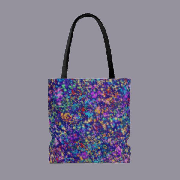 Galactic Confetti tote bag