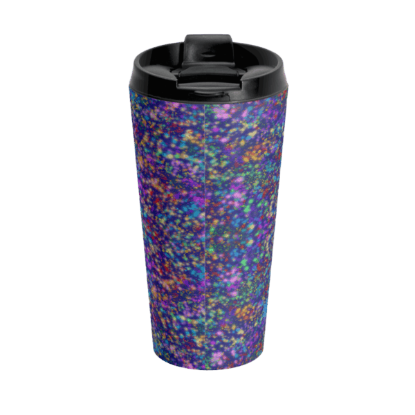 Galactic Con travel cup back