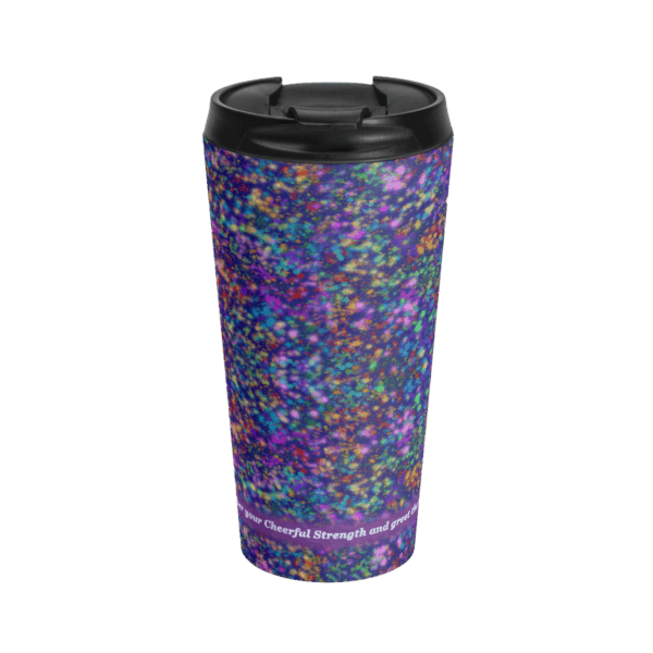 Galactic Con travel cup front
