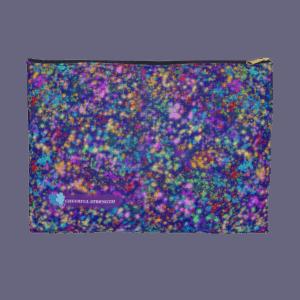Galactic Confetti zip pouch