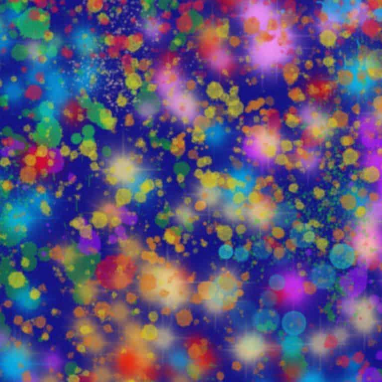 Galactic Confetti SWATCH