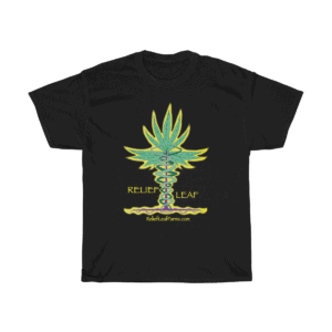 Relief Leaf T-Shirt