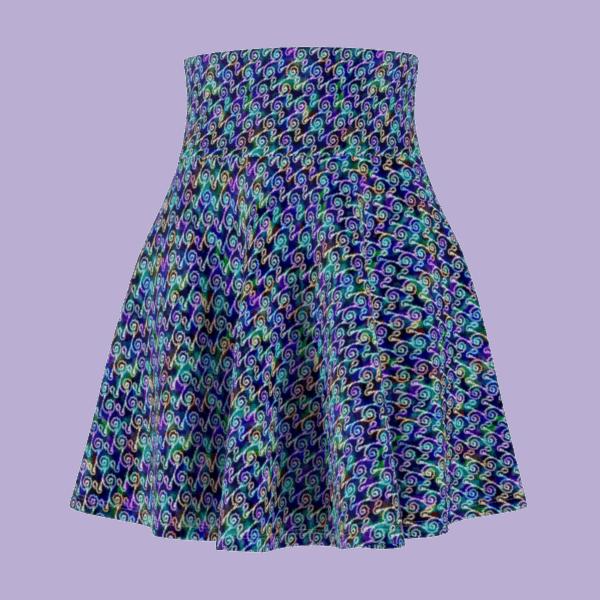 Ripples Skirt Front
