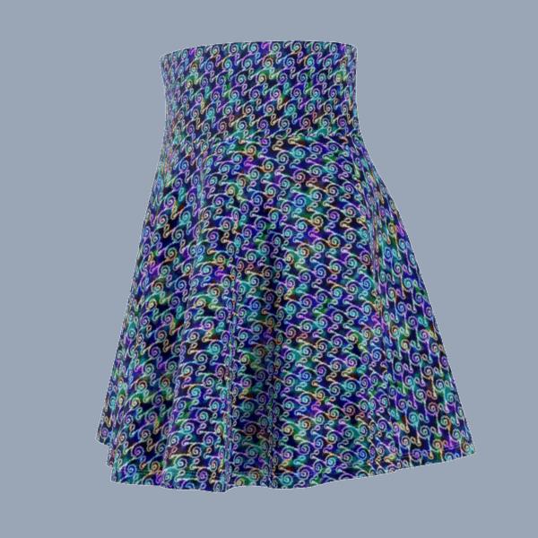 Ripples Skirt Side front