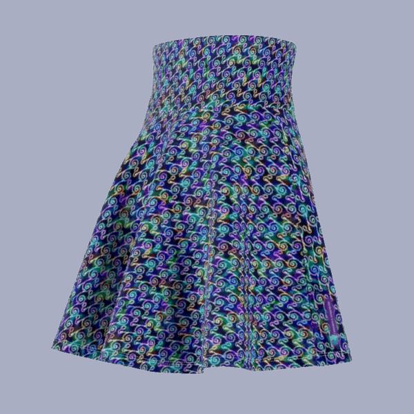 Ripples Skirt side back