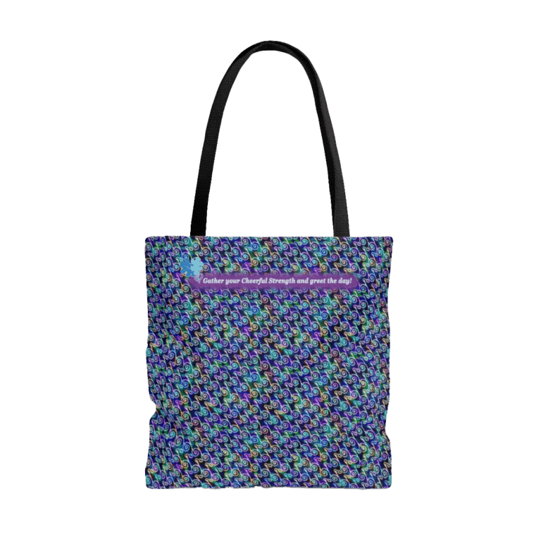 Ripples Tote Bag front