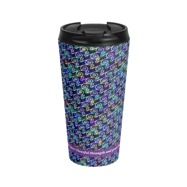 Ripples Travel Cup front