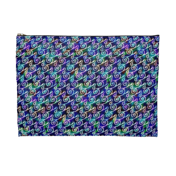 Ripples zip pouch back 1