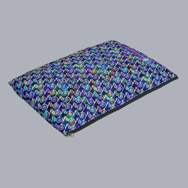 Ripples zip pouch flat 1