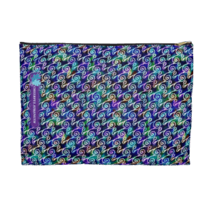Ripples zip pouch