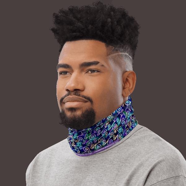 Ripples in Rainbows neck wrap