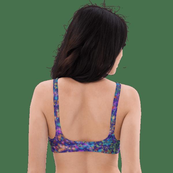 Galactic Confetti Bikini Top