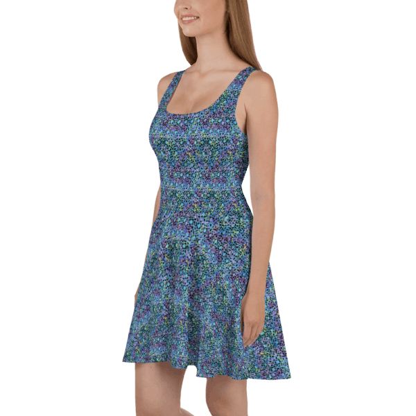 Electric Lace dress side view