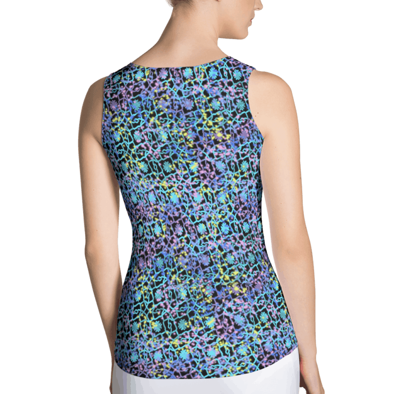 Electric Lace tank top