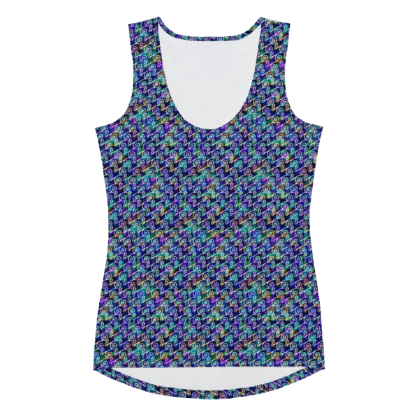all over print womens tank top white front 60e5ae8d9a02f